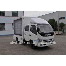 Low Price Foton double row cab truck mobile led display